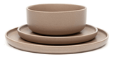 HANA Dinner Set - 12-Piece - Natural