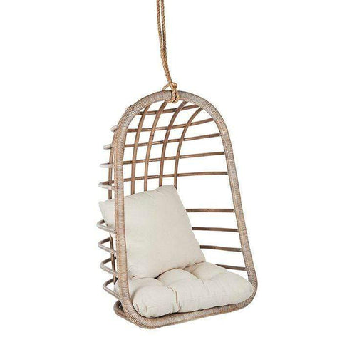 HARVEY RATTAN HANGING CHAIR