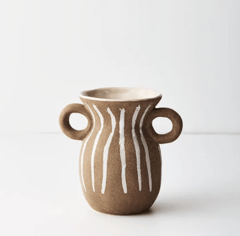 Terracotta Nomad Vase Small