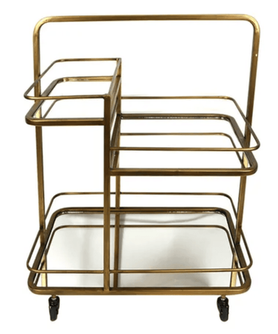 Kent Metal Bar Cart 64x42x81cm