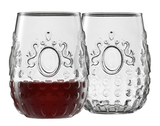 Marie Set of 6 Stemless Wine Glasses 490ml