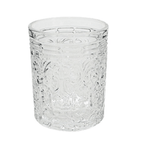 OLD FASHION DRINKING GLASSES  SET OF 6 8X10CMH
