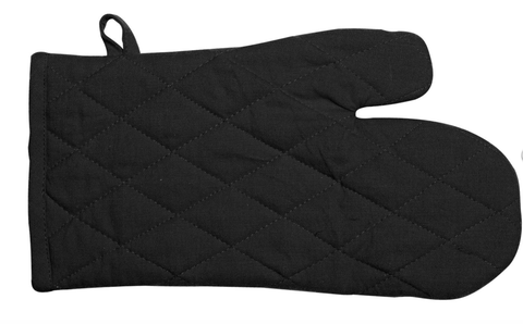 Manhattan Oven Gloves Black