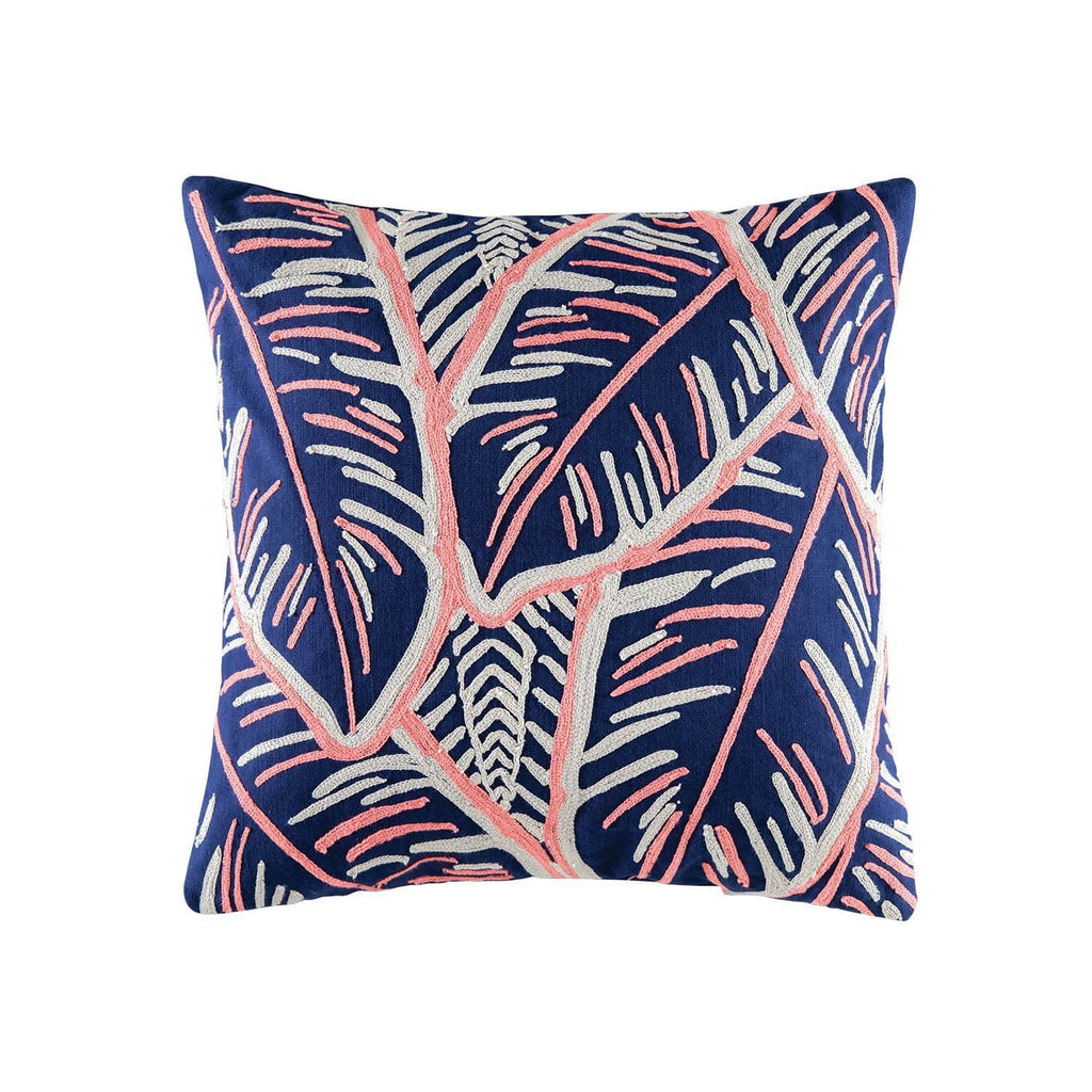 Martinique Cushion Navy and Pink 50x50cm