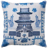 Oriental House Cushion 50cm