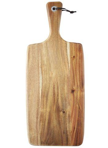 Rectangular Acacia Paddle Serving Board