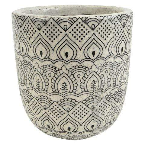Marrakech Ceramic Pot - Assorted Sizes
