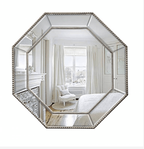 Octagonal Mirror 78cm - Assorted Colours