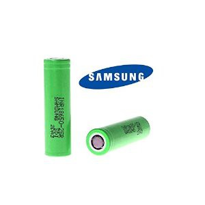 Samsung 25R 18650 2500mAh 20A Battery - 2 pack