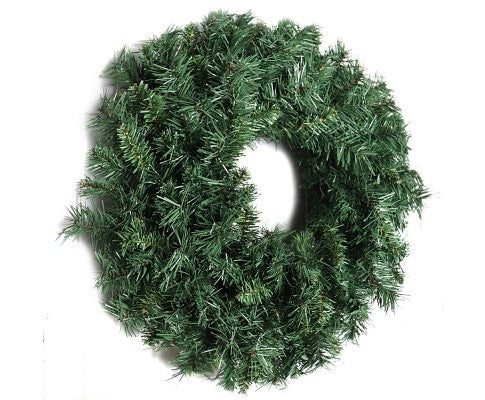 60cm Christmas Wreath - Green
