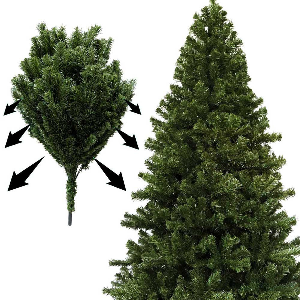 2.4M Premium Christmas Tree 1400 Tips - Green
