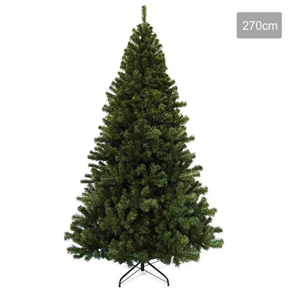 2.7M Premium Christmas Tree 1600 Tips - Green
