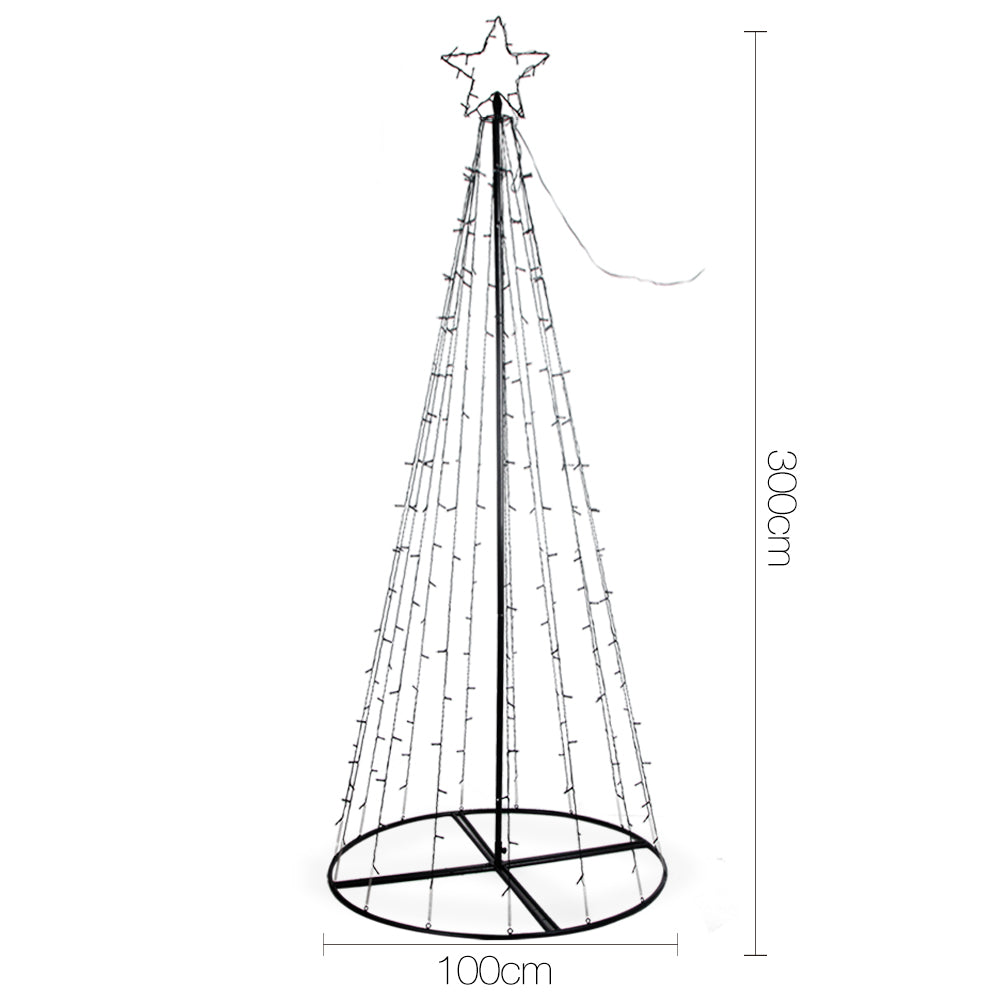 LED Light Christmas Tree - 3.0M