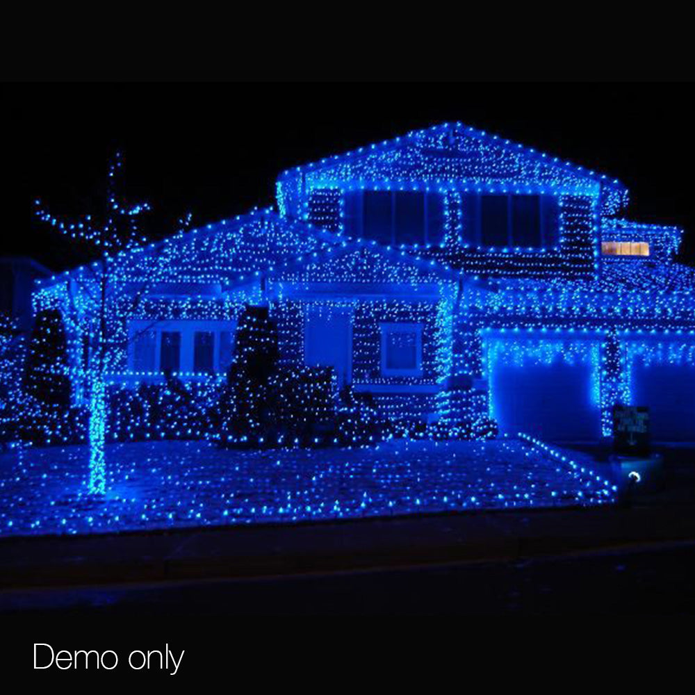 500 Christmas LED String Lights - Blue