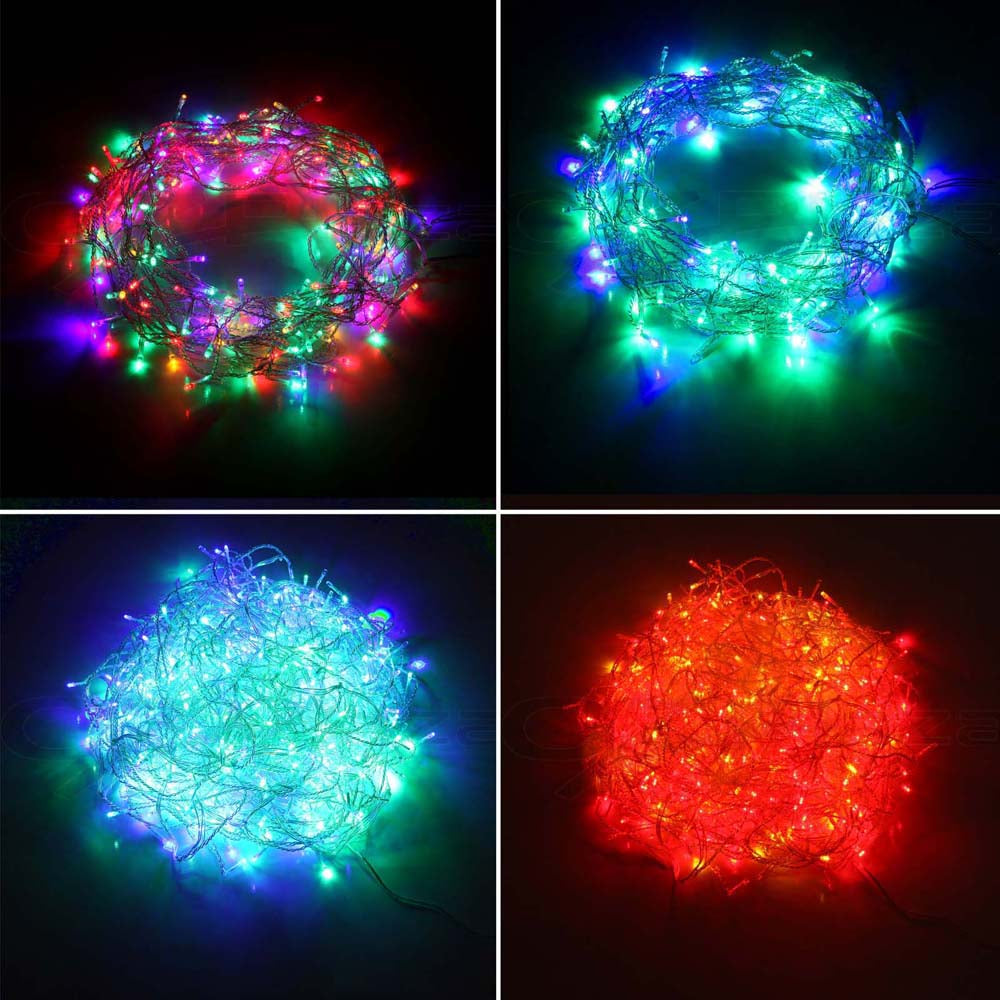 500 Christmas LED String Lights - Multicolored