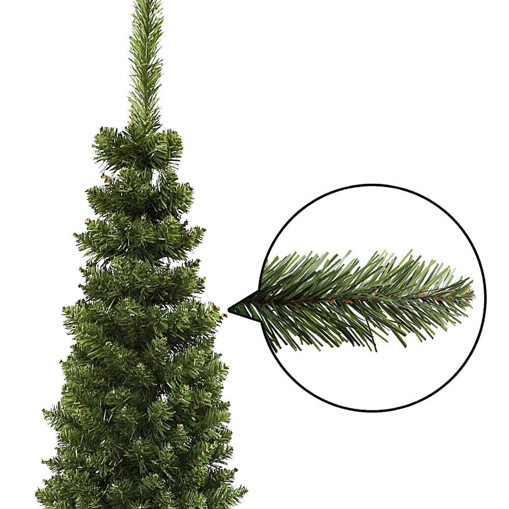 1.8M Slim Christmas Tree - Green