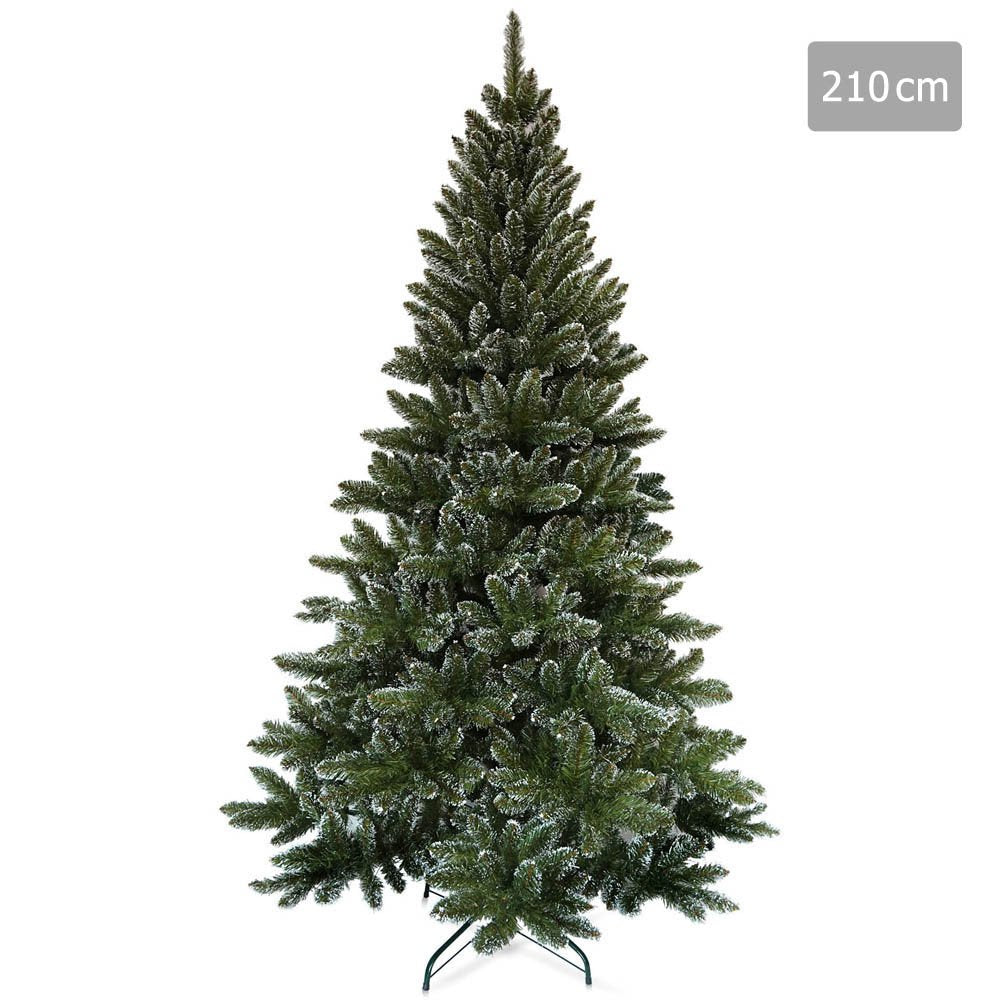 2.1M Snowy Christmas Tree - Flocked