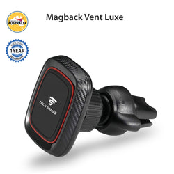 Tech Sense Lab (Australia) Magback Vent Luxe Magnetic Car Mobile Phone Holder, one Touch 360° Rotating. Upgraded 2018 Model for All Smartphones