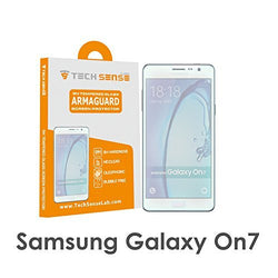 Tech Sense Lab (Australia) Samsung On7 Premium Tempered Glass Screen Protector [9H] - Full HD, Shatterproof, Anti Scratch Screen Guard For Samsung On7