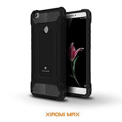Tech Sense Lab (Australia) Xiaomi Max Armaguard Classic Armor Case, Dual Layer, Shockproof And Easy Grip Design With Carbon Fiber Finish