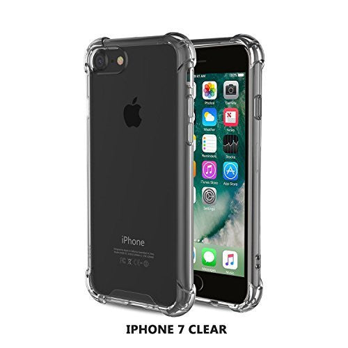 Tech Sense Lab (Australia) Armaguard Liquid Case For iPhone 7, Military Grade TPU & All Around Protection (Clear)