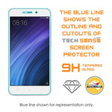 Tech Sense Lab (Australia) Xiaomi Redmi 4A Premium Tempered Glass Screen Protector [9H] - Full HD, Anti Scratch Screen Guard For Redmi Note 4A