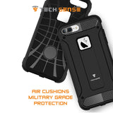 Tech Sense Lab (Australia) iPhone 7 Plus Armaguard Classic Armor Case, Dual Layer, Shockproof And Easy Grip Design With Carbon Fiber Finish