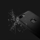 Tech Sense Lab (Australia) Hybrid Slim Armor Shockproof And Easy Grip Design Case With Carbon Fiber Finish For OnePlus 5