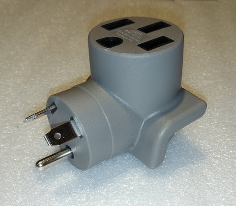 NEMA 14-50R to TT-30P Adapter for EV Charging at Campgrounds