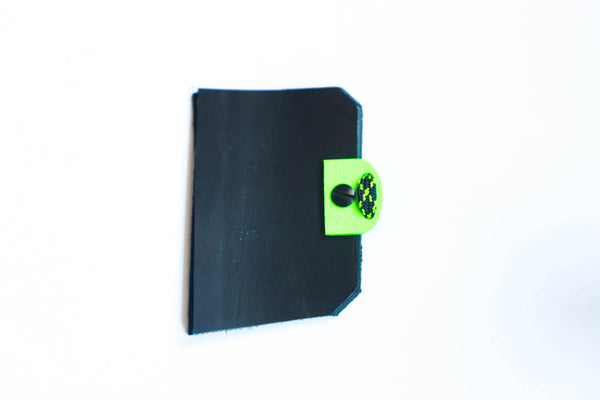 Micro Kydex 3 under tab - Flo Green