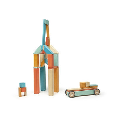 42 Piece Classic Tegu Sunset-Block-Ten Octaves