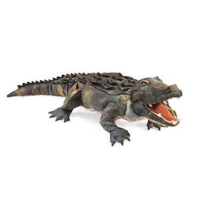 American Alligator Hand Puppet Folkmanis-Ten Octaves