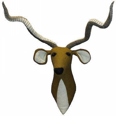 Antelope Head Handmade Wall Decor-Wall Decor-Ten Octaves