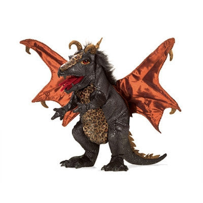 Black Dragon Hand Puppet-Puppet-Ten Octaves