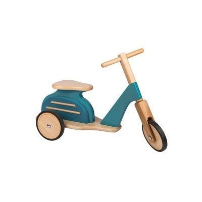Blue Wooden Scooter Moulin Roty-Ride-On-Ten Octaves
