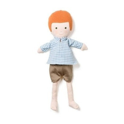 Charlie in Gingham Shirt Outfit-Plush-Ten Octaves