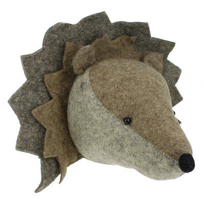 Hedgehog Handmade Wall Decor-Wall Decor-Ten Octaves
