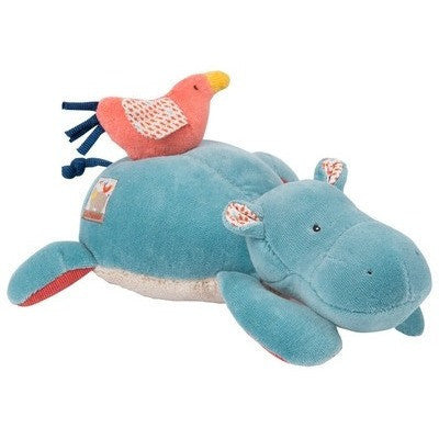Musical doll hippopotamus- Les Papoum-Musical-Ten Octaves