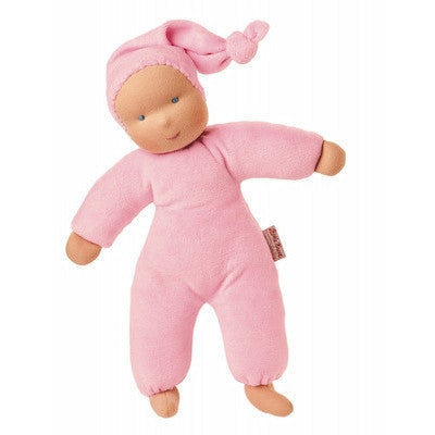 Organic Schatzi Pink Doll-Plush-Ten Octaves