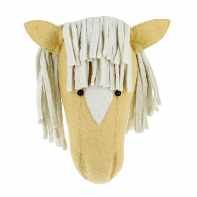 Palomino Horse Head Wall Decor-Wall Decor-Ten Octaves