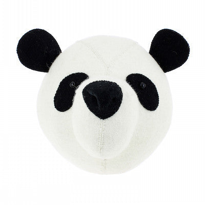 Panda Head Handmade Wall Decor-Wall Decor-Ten Octaves