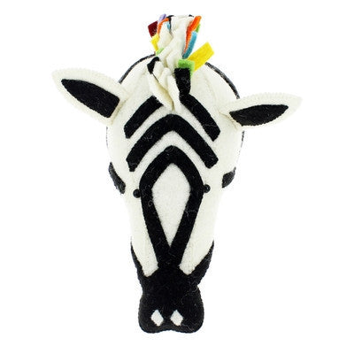 Safari Rock Zebra Semi Handmade Wall Decor-Wall Decor-Ten Octaves