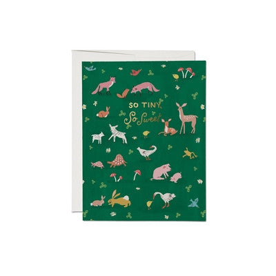 Tiny Animal Greeting Card-Greeting Card-Ten Octaves
