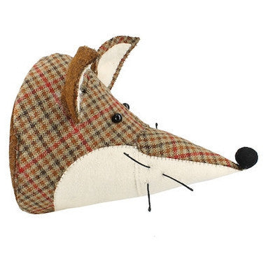 Tweed Fox Handmade Wall Decor-Wall Decor-Ten Octaves