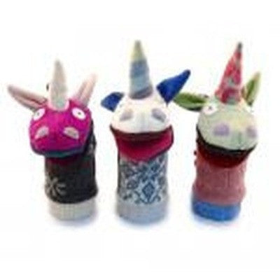 Unicorn Wool Puppet-Puppet-Ten Octaves