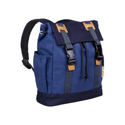 Vintage Little One & Me Backpack Small Blue-Accessories-Ten Octaves