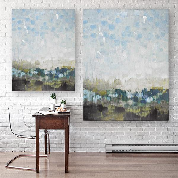 """Fields Afar"" Canvas Art"