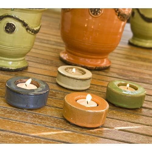 Pastel Garden Tealights (Set of Four)