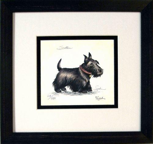 "Wall Art: ""Scottie"""