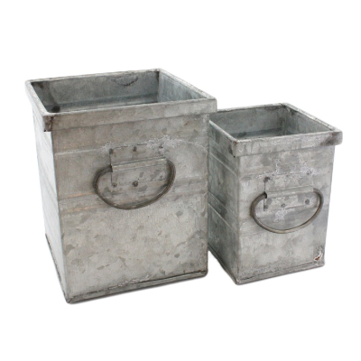 Galvanized Tin Container